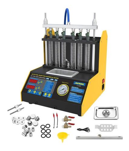 Lavador Inyectores 6probeta Autool Ultrasonido Comprobador