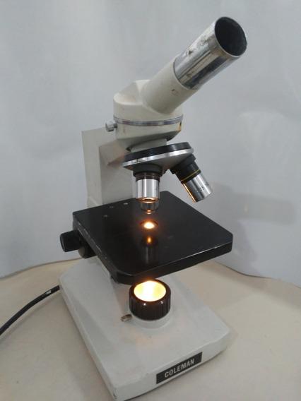 Microscópio Coleman
