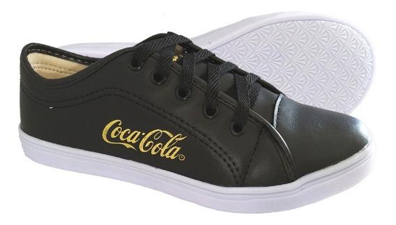 Sapatenis Tenis Alpargata Coca Cola Feminino