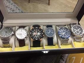 Relógio Marca Bulova 98b118 Ouro Rosé Marine Star Usado