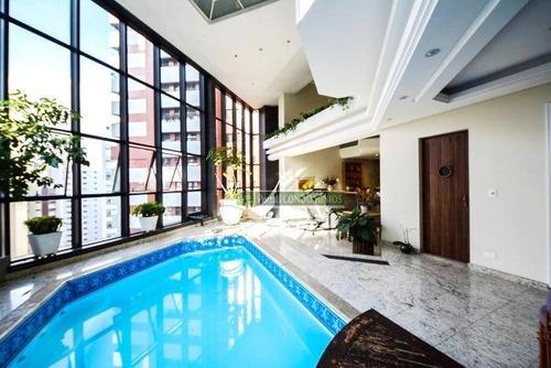 Apartamento Com 4 Dormitórios À Venda, 664 M² Por R$ 6.000.000,00 - Batel - Curitiba/pr - Ap0484
