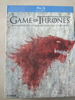 Blue-ray Game Of Thrones Primeira E Segunda Temporada