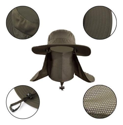 Complemento De Boonie Sombrero Borde Oreja Cuello Cubre Sol