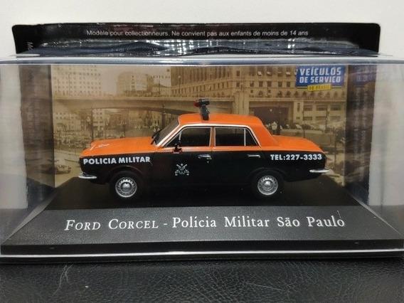 Miniatura Corcel Polícia Militar São Paulo