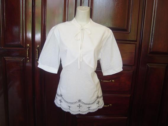 Limpia De Closet Blusa De Maternidad Color Blanco Con Negro