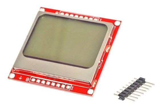 Display Lcd 84x48 Spi Nokia 5110 Arduino Avr Pic Rasp Ubot