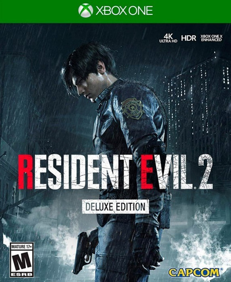 Resident Evil 2 Deluxe Edition Xbox One Online + Brinde