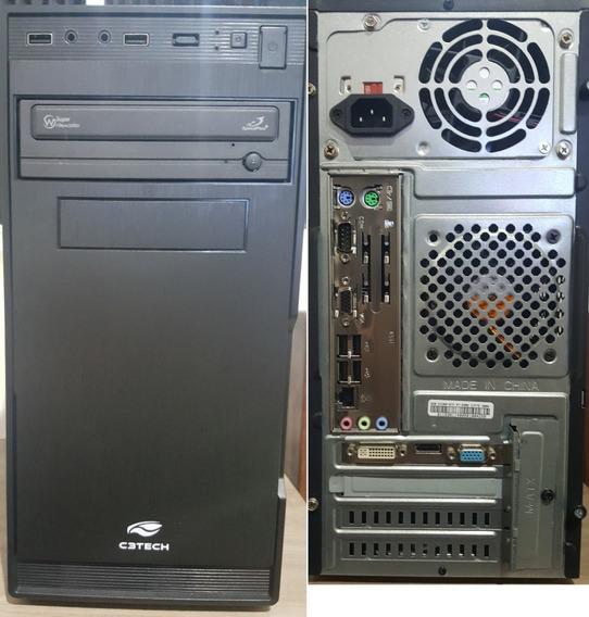 Computador Intel Core2quad 8gb Ddr3 Nvidia 210 Hd 500gb