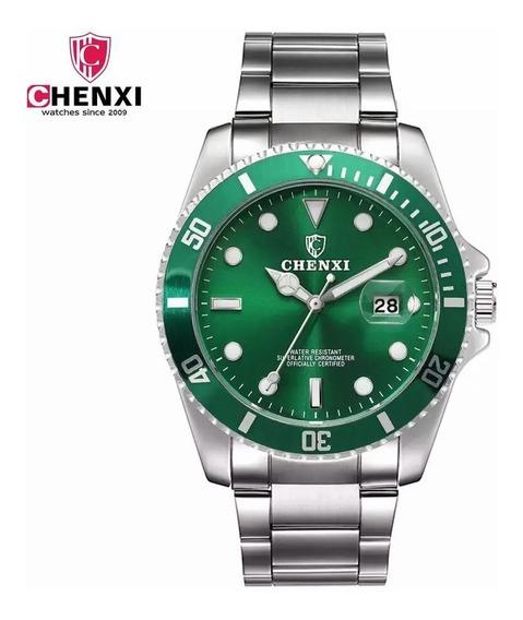 Relógio De Pulso Masculino Quartz Chenxi Pulseira De Aço
