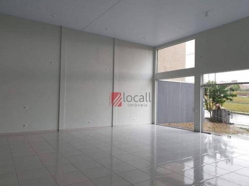 Salão, 130 M² - Venda Por R$ 380.000,00 Ou Aluguel Por R$ 3.000,00/mês - Mais Parque Mirassol - Mirassol/sp - Sl0387