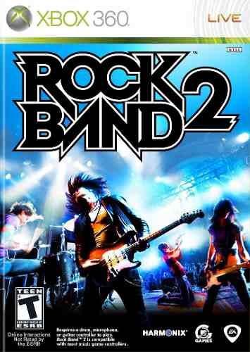 Jogo Rock Band 2 Rockband 2 Xbox 360 Original Frete R$15