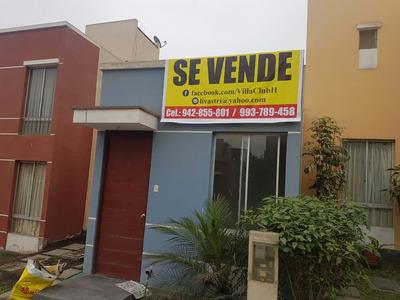 Casa Villa Club Ii De 5 Ambientes 3 Cuartos 1 Baño Garage