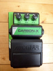 Pedal Onner Carbon X Overdrive Boost, Ts9 Sd1 Tube Scream