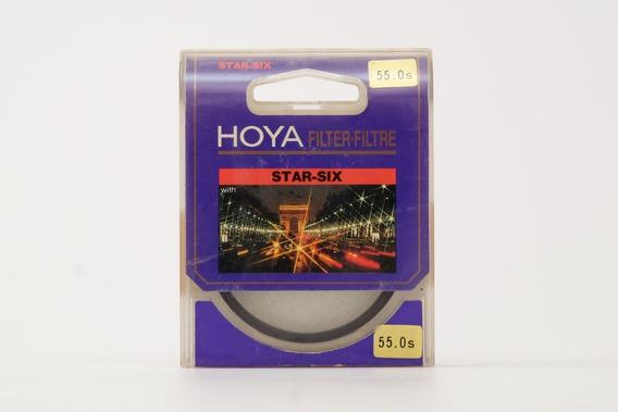 Filtro Hoya Star-six 55mm