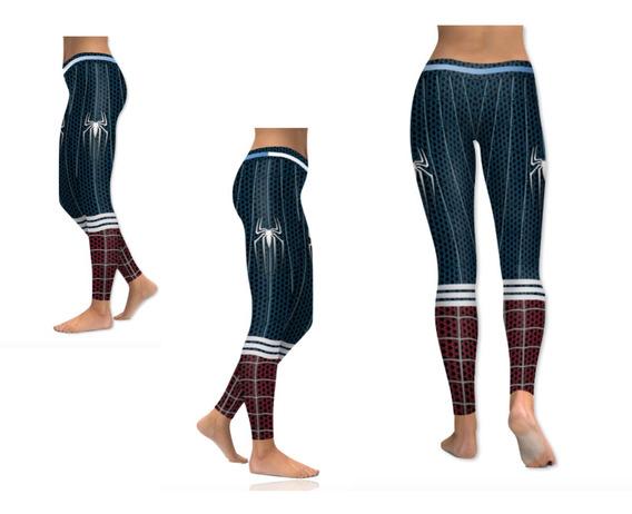 Legging De Spiderman Tipo Deportivo Para Mujer Xtreme C