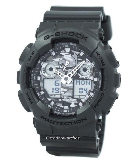 Relógio Casio G-shock Ga-100cf-8adr Original +frete
