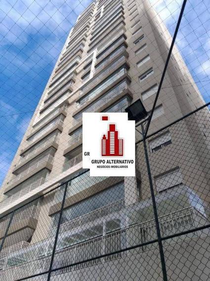 Apartamento Duplex Com 3 Dormitórios Para Alugar, 195 M² Por R$ 4.500/mês - Anália Franco - São Paulo/sp - Ad0003