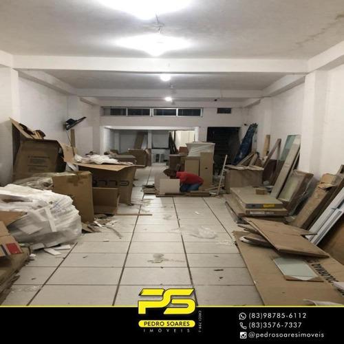 Imagem 1 de 4 de Prédio Para Alugar, 90 M² Por R$ 2.500/mês - Centro - João Pessoa/pb - Pr0030