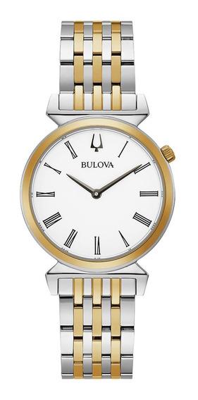 Relógio Feminino Bulova Regatta Slim Aço 98l264