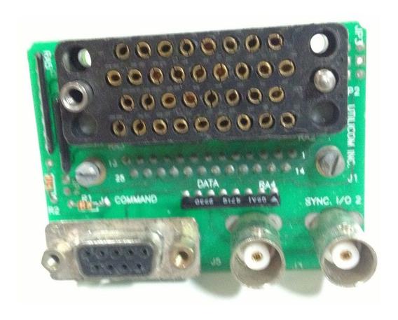 Conector Adaptador De Db25 Macho Para V35 Iso Macho