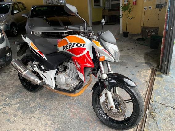 Honda Cb 300 R 2014 Repsol Aceitamos Moto Na Troca