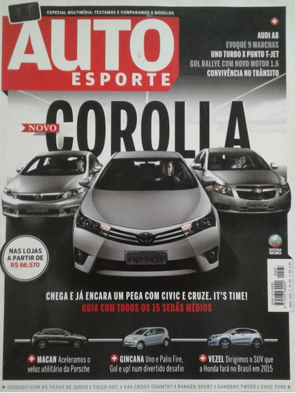 Revista Auto Esporte Novo Corolla Abril 2014 Número 587