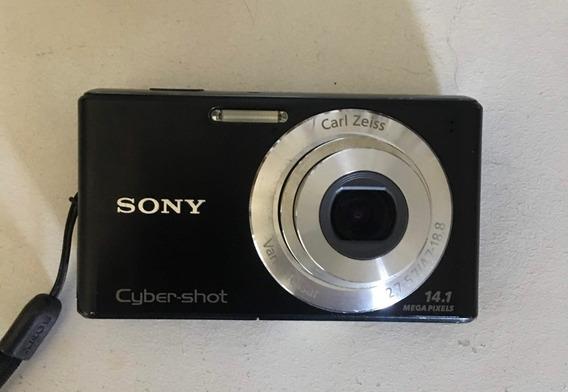 Câmera Fotográfica Cyber-shot Preta