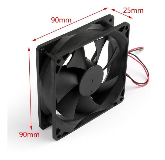 Micro Ventilador 92 X 92 X 25mm 90 X 90 X 25mm 24v Cooler