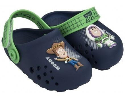Sandália Infantil Grendene 22078 Disney Babuche Toy Story