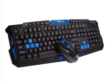 Teclado + Mouse Sem Fio Gamer Para Jogos!