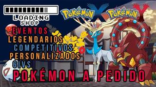 5 Pokémon A Pedido X/y 6ivs,shiny,competitivo