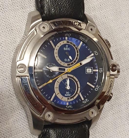 Relógio Náutica Cronografh Antigo N16559g