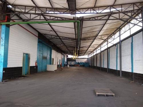Galpão Para Alugar, 4500 M² Por R$ 92.000,00/mês - Cidade Industrial Satélite De São Paulo - Guarulhos/sp - Ga1577