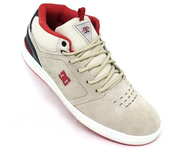 Tênis Dc Shoes Cole Signature Mid Couro - Frete Grátis
