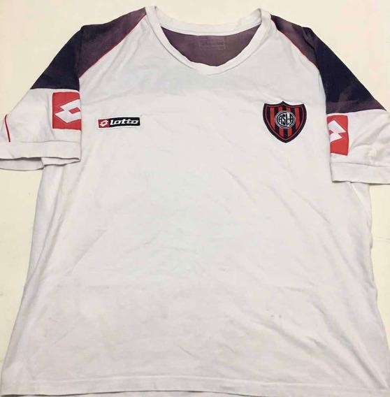 Camiseta Fútbol San Lorenzo Lotto Original Entrenamiento