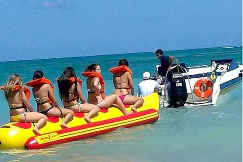 Imagem 1 de 5 de Banana Boat  Zefir 5 Lugares Miami Nautica