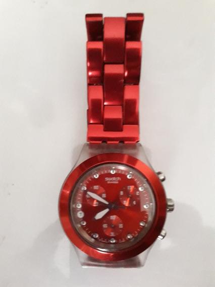 Swatch Full-blooded Original Relógio Feminino