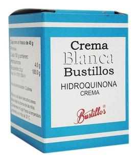 Crema Blanqueadora Bustillos Hidroquinona Al 4% 40gr