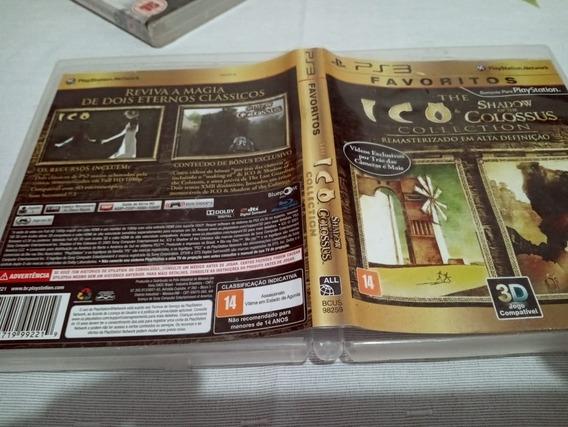 Games Jogos Play3 Ico & Shadow Of Colossus Usado Ppp6#