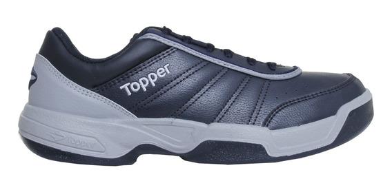 Zapatillas Topper C Tennis Tie Break Iii Hombre Mn/gp