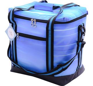 Bolsa Térmica Sunfit Piquenique 26 Litros, Azul