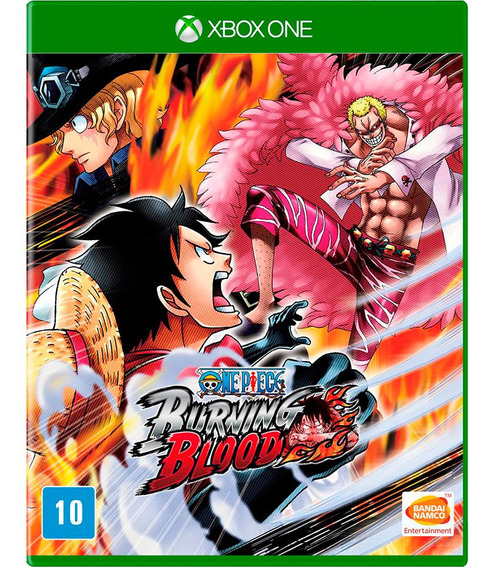 Game One Piece Burning Blood Xbox One Disco Fisico Promoção