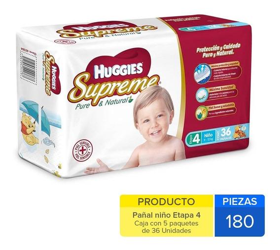 Caja Huggies Supreme E-4 Niño180 Uni.