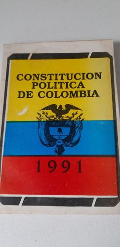 Libro Constitucion Politica De Colombia
