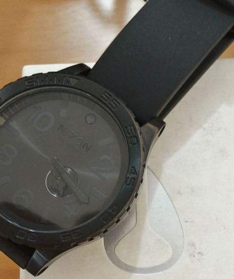 Relógio Nixon 51-30 Black Pu Novo Na Caixa Original