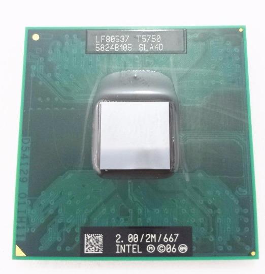 Processador Note Intel Core 2 Duo T5750 2.00 Sla4d Frete Gra