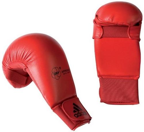 Luva adidas Karate Wkf Vermelho (sem Dedão)