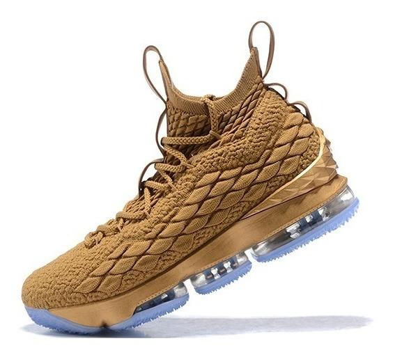 Zapatillas Nike Lebron James 15 Ocre/entero 40/45