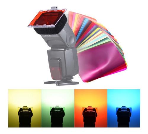 Gel Para Flash, Gelatinas De Colores