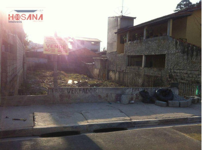 Terreno Residencial À Venda, Região Central, Caieiras. - Te0052